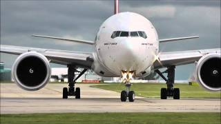 Download Boeing 777-300/ER's | STUNNING CLOSE UP DEPARTURES!! Video