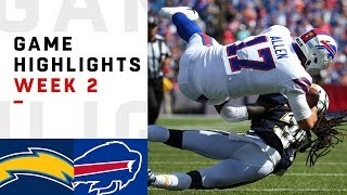 Download Chargers vs. Bills Week 2 Highlights | NFL 2018 Video
