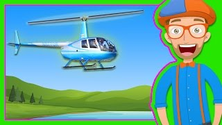 Download Helicopters for Children | Blippi Explore a Helicopter Video