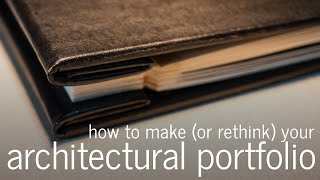 Download How to make an architectural portfolio (for Architects, Interns and Students) Video