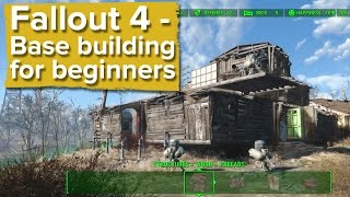 Download Fallout 4 - Base building for beginners (new gameplay) Video