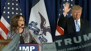 Download Full video: Sarah Palin endorses Donald Trump Video