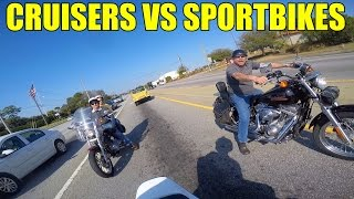 Download Cruisers VS Sport Bikes Video