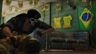 Download Tom Clancy's Rainbow Six Siege - Skull Rain's BOPE Operators and Favela Map In Action Video