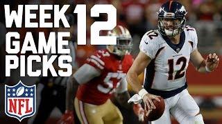 Download Week 12 NFL Game Picks in Under 3 Minutes⏱🏈 | NFL Highlights Video