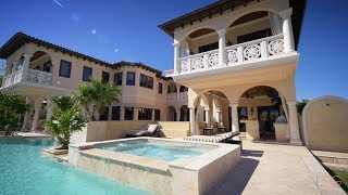 Download Two-story Waterfront Italian Estate on Pine Tree Drive - The Jills - Lifestyle Production Group Video