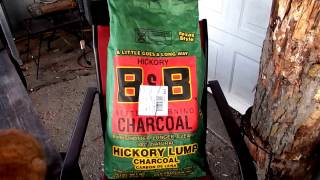 Download B & B Hickory Lump Charcoal Review Video