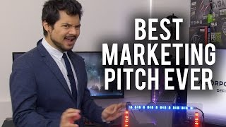 Download The Greatest PC Marketing Pitch of All Time Video