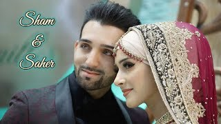 Download Sham & Saher | Official Engagment & Nikaah Highlights | Video