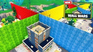 Download WALL WARS Custom Gamemode in Fortnite Battle Royale Video