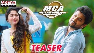 Download MCA (Middle Class Abbayi) Teaser || Nani,Sai Pallavi || Devi Sri Prasad || Sriram Venu Video