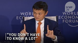 Download Jack Ma career advice: You don't have to be smart to be successful Video