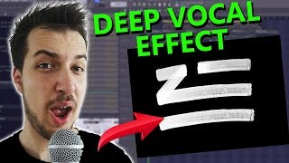 Download How to make DEEP VOCAL EFFECT like ZHU (if you can't sing) | FL Studio Video