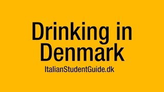 Download Italian Student Guide - Drinking in Denmark Video