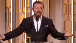 Download Ricky Gervais Hosting Golden Globes 2016- All his funny bits and monologue edited together Video
