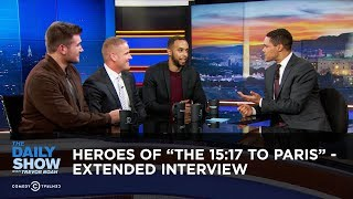Download Heroes of ″The 15:17 to Paris″ - Extended Interview: The Daily Show Video