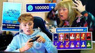 Download Kid Spends $500 on FORTNITE with Mom's Credit Card... [MUST WATCH] Video
