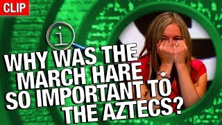 Download QI | Why Was The March Hare So Important To The Aztecs? Video