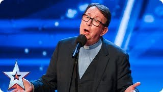 Download Father Ray Kelly takes us to church with AMAZING version of 'Everybody Hurts' | Auditions | BGT 2018 Video