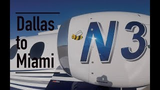 Download What's the deal with the Bee? Dallas to Miami in a private jet Video