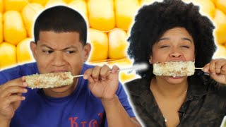 Download Dominicans Try Elotes For The First Time Video