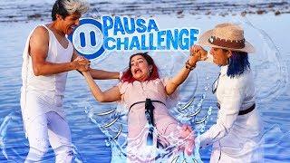 Download PAUSA CHALLENGE EN LA PLAYA | LOS POLINESIOS RETO Video