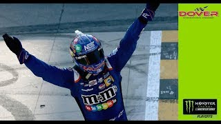 Download Kyle Busch wins thriller, passing Elliott late for Dover win Video