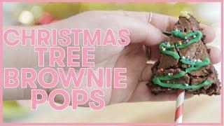 Download CHRISTMAS Tree BROWNIE Pops Video
