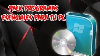 Download PACK DE PROGRAMAS PARA PC DE 32 Y 64 BITS TODO EN UNO WINDOWS XP | 7 | 8 Y 10 | 2015 y 2016 Video