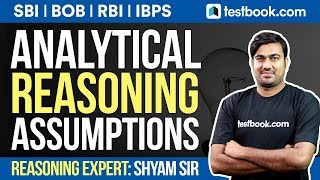Download SBI, BoB, RBI Grade B | Analytical Reasoning | Statement & Assumptions by Shyam Sir | Must Watch! Video