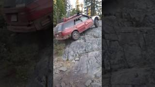 Download Sinister Subaru Climbs Straight Up! - No Jeep No 4X4 Baja Off Roadin Up the Face of Rocks! Video