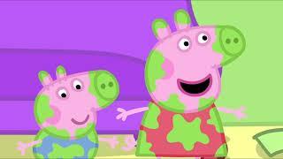 Download Peppa Pig in Hindi - Daddy Pig Frame Laga Rahe Hai - हिंदी Kahaniya - Hindi Cartoons for Kids Video