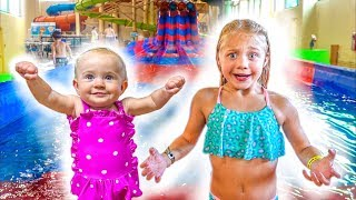 Download The LaBrant Family Braves The Worlds Largest Indoor Waterpark!!! Video