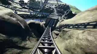 Download Planet Coaster Alpha - The Cave Onride ( Day & Night ) Video