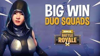 Download Big Win!! Duo Squads - Fortnite Battle Royale Gameplay - Ninja & Symfuhny Video