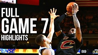 Download Warriors vs Cavaliers: Game 7 NBA Finals - 06.19.16 Full Highlights Video