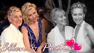 Download Ellen Degeneres & Portia De Rossi || Best moments together Video