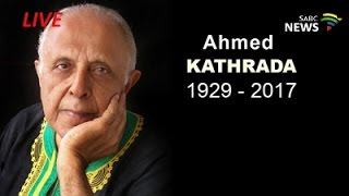 Download Media Briefing on the late Ahmed Kathrada Video