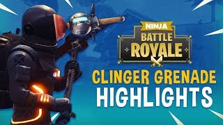 Download New Clinger Grenade Highlights!! - Fortnite Battle Royale Highlights - Ninja Video