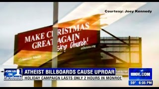 Download Triggered Christians Need A Safe Space From Atheist Billboard Video