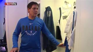 Download Tour of Dallas Mavericks new locker room with Mark Cuban Video