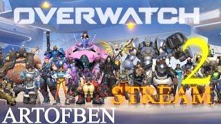 Download Overwatch l ArtofBen Stream #2 l Magyar Kommentárral . Video