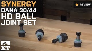 Download Jeep Wrangler Synergy Dana 30/44 HD Ball Joint Set (2007-2017 JK) Review Video