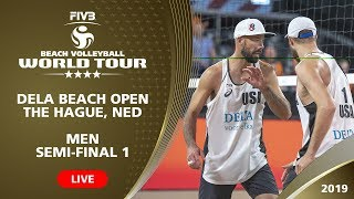 Download The Hague 4-Star 2019 - Men SF1 - Beach Volleyball World Tour Video