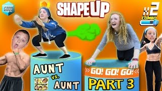 Download FGTEEV Aunts Work Out! SHAPE UP Pt. 3: Fitness Challenge Competition Family Fun! Video