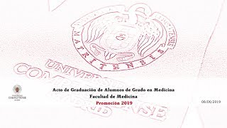 Download Acto de Graduación de Grado de Medicina. Facultad de Medicina. UCM Video