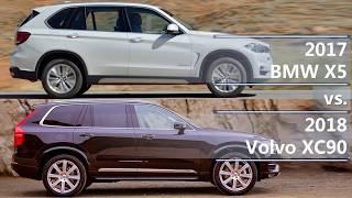 Download 2017 BMW X5 vs 2018 Volvo XC90 (technical comparison) Video