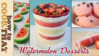 Download 10 Best WATERMELON Recipes in 10 minutes: How To Cook That Ann Reardon Video