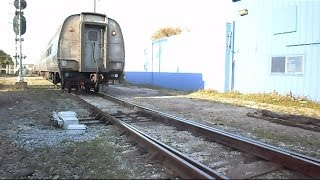 Download Amtrak Silver Star Track Switches For Train To Reverse In To Tampa Florida Video