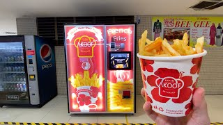 Download French Fries Vending Machine Video